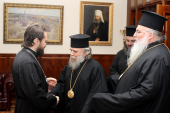Председатель Отдела внешних церковных связей провел переговоры с делегацией Иерусалимского Патриархата