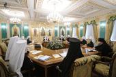 Началось первое в 2012 году заседание Священного Синода Русской Православной Церкви