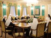ЖУРНАЛЫ заседания Священного Синода от 15-16 марта 2012 года