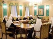 Священный Синод образовал ряд новых митрополий и епархий Русской Православной Церкви