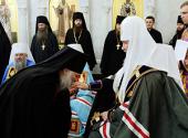 Святейший Патриарх Кирилл возглавил чин наречения архимандрита Сергия (Иванникова) во епископа Каменского и Алапаевского