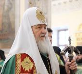Слово Святейшего Патриарха Кирилла в день памяти благоверного князя Даниила Московского в Троицком соборе Данилова монастыря