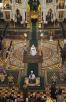 Патриаршее служение в Храме Христа Спасителя в неделю Крестопоклонную. Хиротония архимандрита Сергия (Иванникова) во епископа Каменского и Алапаевского