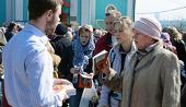 Участники благотворительной акции «Пасхальная Весть» в Великую субботу раздадут более 100 тысяч экземпляров Евангелия