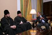 Епископ Подольский Тихон и министр туризма Египта Мунир Фахри Абдель Нур обсудили вопросы обеспечения безопасности паломников из России