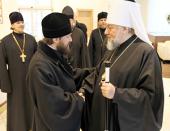Председатель Отдела внешних церковных связей Московского Патриархата совершил поездку в Латвию