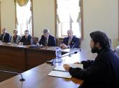 Председатель ОВЦС встретился с делегацией Института высших исследований национальной обороны Франции