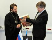 Завершилась рабочая поездка митрополита Волоколамского Илариона в Эстонию