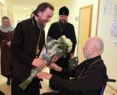 Епископ Нарвский Лазарь посетил Блаженнейшего митрополита Киевского Владимира