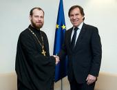 Представитель Русской Православной Церкви в Страсбурге встретился с председателем ПАСЕ