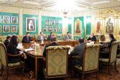 Святейший Патриарх Кирилл встретился с руководителями печатных СМИ и информагентств России