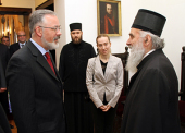 Министр образования Украины Д.В. Табачник награжден орденом Сербской Православной Церкви