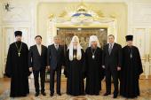 Святейший Патриарх Кирилл встретился с делегацией Республики Казахстан