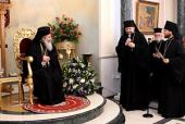 В Иерусалиме отметили день тезоименитства Блаженнейшего Патриарха Феофила