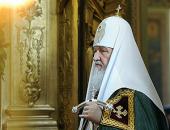 Слово Святейшего Патриарха Кирилла после Литургии в храме Ризоположения на Донской улице в Москве
