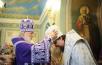 Патриаршее служение в храме Ризоположения на Донской улице в Москве. Хиротония архимандрита Филарета (Гусева) во епископа Канского