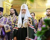 Святейший Патриарх Кирилл: У нас нет будущего, если мы начинаем глумиться перед великими святынями