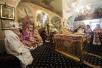 Патриаршее служение в храме свт. Николая Чудотворца в Хамовниках. Хиротония архимандрита Алексия (Антипова) во епископа Бузулукского