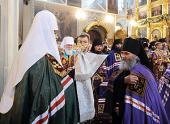 Слово Святейшего Патриарха Кирилла при вручении архиерейского жезла Преосвященному Алексию (Антипову), епископу Бузулукскому и Сорочинскому