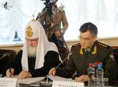 Святейший Патриарх Кирилл: Реформирование правоохранительных органов не должно означать их разрушения