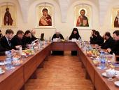 В Высоко-Петровском монастыре прошло очередное заседание комиссии Межсоборного присутствия по вопросам религиозного образования и духовного просвещения