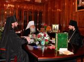 Состоялось первое заседание Синода Среднеазиатского митрополичьего округа
