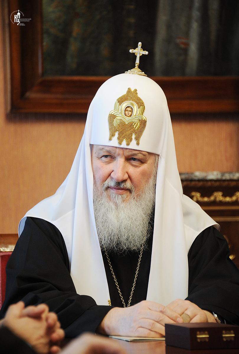 Встреча Святейшего Патриарха Кирилла с послом США М. Макфолом