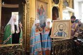 Слово Святейшего Патриарха Кирилла в неделю 5-ю Великого поста в храме святителя Николая Чудотворца в Кузнецах