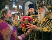 Игумен Мстислав (Дячина), избранный епископом Лодейнопольским, викарием Санкт-Петербургской епархии, возведен в сан архимандрита
