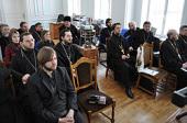 Завершил работу семинар по повышению квалификации руководителей епархиальных миссионерских отделов
