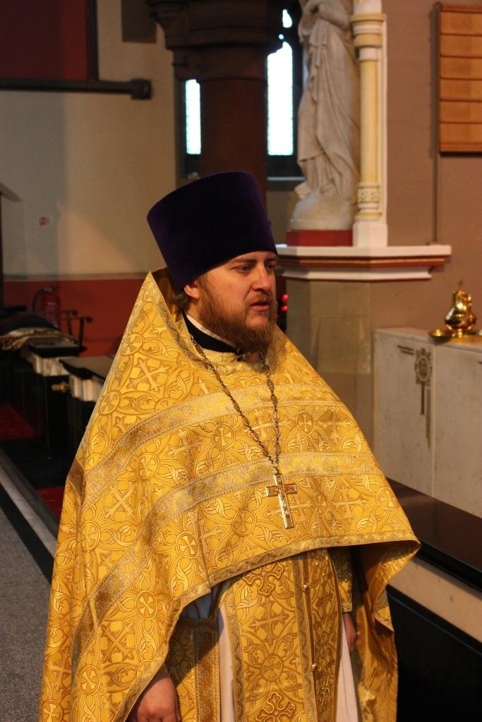 Настоятель прихода протоиерей Геннадий Андреев