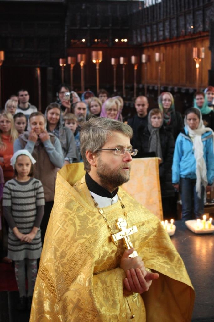 священник Георгий Завершинский
