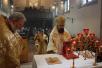 Архиепископ Сурожский Елисей и настоятель прихода протоиерей Рафаил Армор