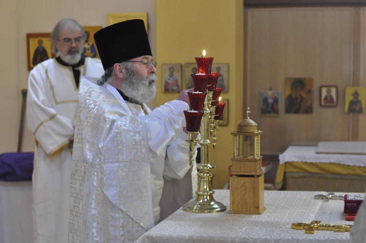 Второй священник Гриторий Батлер
