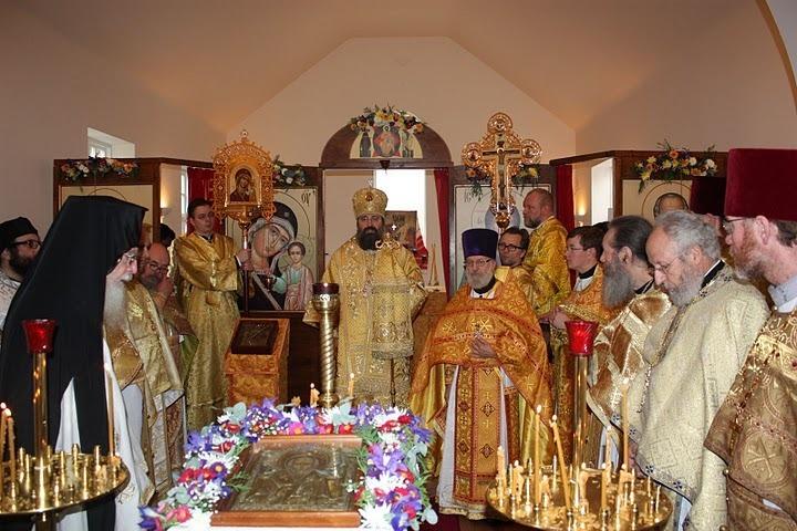 Освящение Оксфордского Свято-Никольского храма