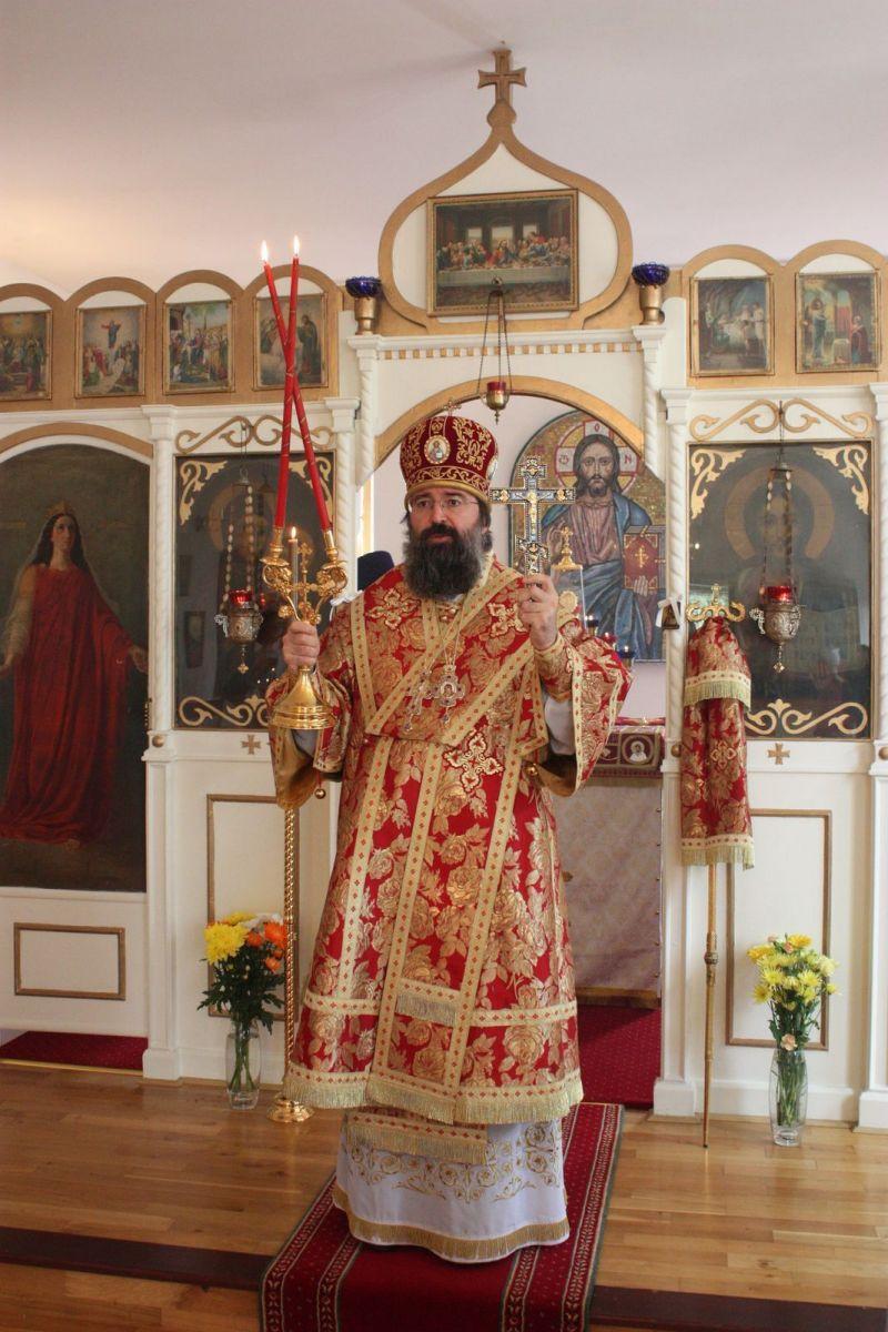 Архиепископ Сурожский Елисей, настоятель ставропигиального Покровского прихода в Манчестере