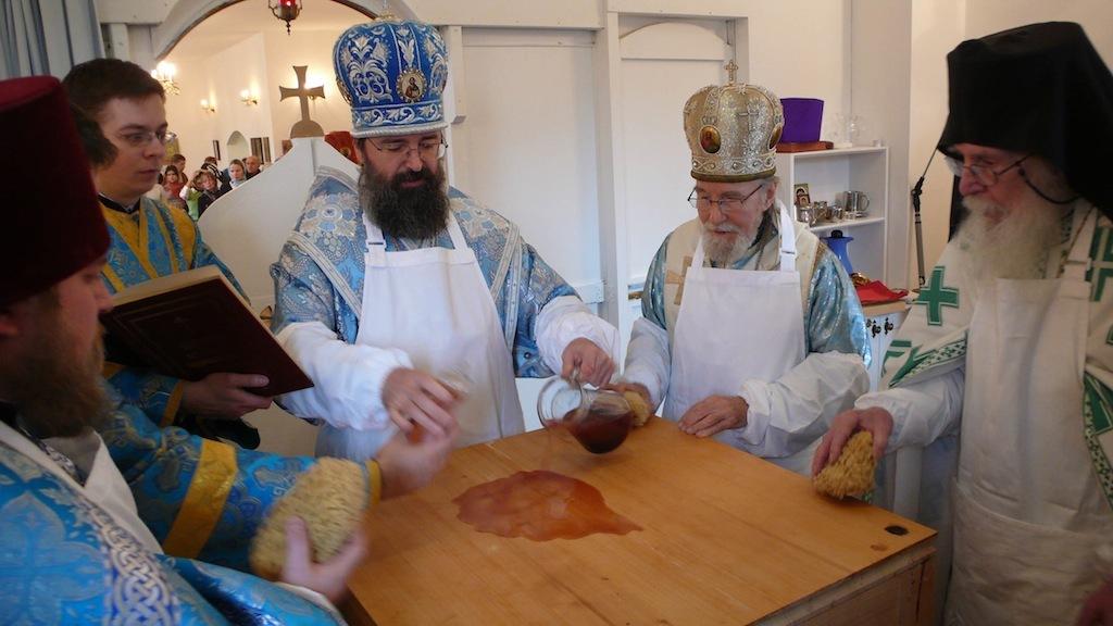 Освящение Покровского храма