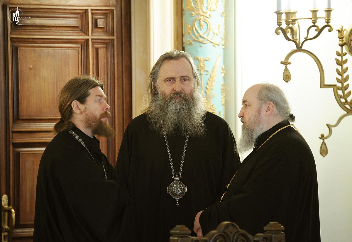 Заседание Высшего Церковного Совета Русской Православной Церкви 3 апреля 2012 года