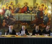 В Храме Христа Спасителя состоялось очередное заседание Церковного суда Русской Православной Церкви