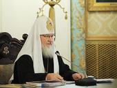 Слово Святейшего Патриарха Кирилла на заседании Высшего Церковного Совета 3 апреля 2012 года