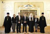 Святейший Патриарх Кирилл встретился с министром внутренних дел Сербии Ивицей Дачичем