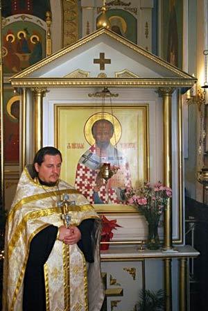 священник Андрей Ковалев
