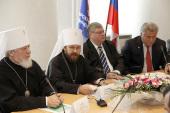 Выступление митрополита Волоколамского Илариона на встрече с членами Совета ректоров вузов Самарской области