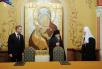 Подписание соглашения между уполномоченным при Президенте РФ по правам ребенка и Синодальным отделом по социальному служению