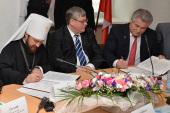 Подписан договор между Общецерковной аспирантурой и докторантурой и Советом ректоров вузов Самарской области