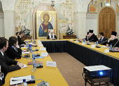 В Храме Христа Спасителя прошло первое заседание Патриаршей комиссии по вопросам семьи и защиты материнства
