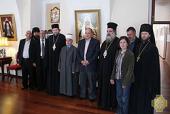 Мэр Восточного Иерусалима посетил Русскую духовную миссию