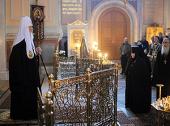Слово Святейшего Патриарха Кирилла в канун Великого вторника в Иоанно-Предтеченском монастыре