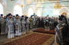 Патриаршее служение в Высоко-Петровском ставропигиальном монастыре в Великий вторник