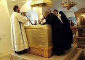 В Малом соборе Донского монастыря завершилось мироварение